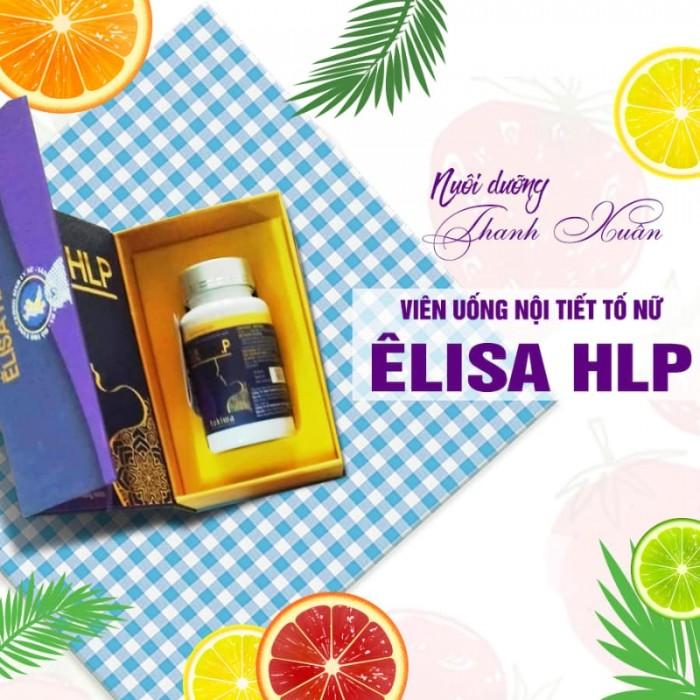 Viên uống nội tiết tố nữ Elisa HLP Nhật Bản10