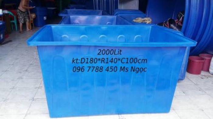 Bán thùng nhựa nuôi cá các loại giá rẻ toàn quốc4