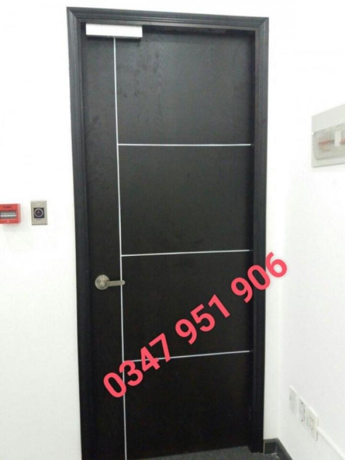 Cửa gỗ mdf veneer , cửa gỗ công nghiệp, cửa phòng ngủ, cửa đi2
