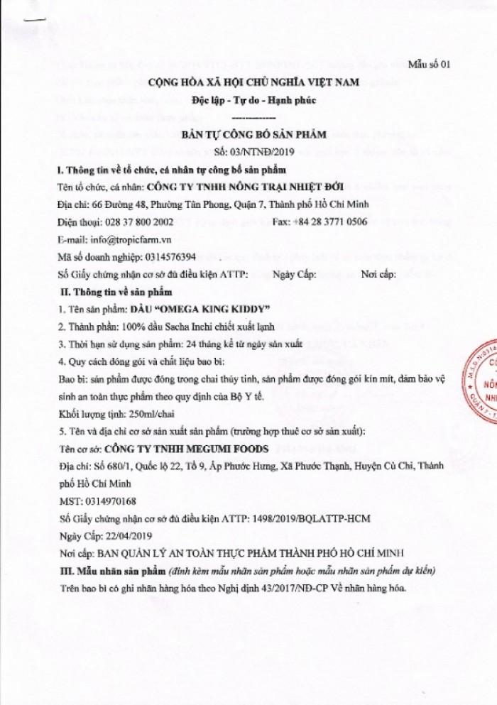 Dầu Sachi Omega 3-6-9 dành cho Trẻ em4