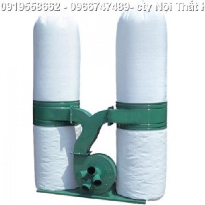 máy hút bụi 2 túi vải xưởng gỗ