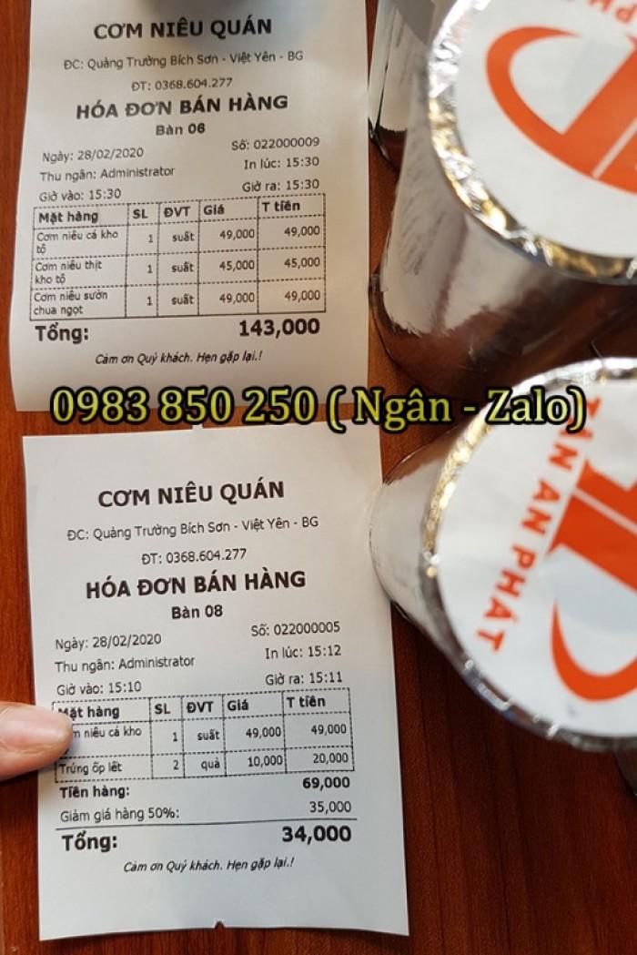 Máy tính tiền cảm ứng cho Nhà hàng - Quán ăn tại Bắc Giang - Bắc Ninh- Ninh Bình3
