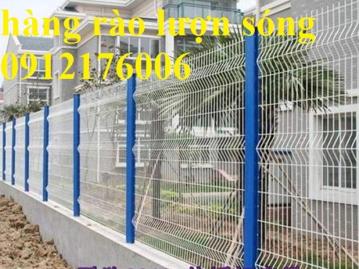Hàng rào lưới thép hàn D5 a 50x150, 50x200 mạ kẽm sơn tĩnh điện.7