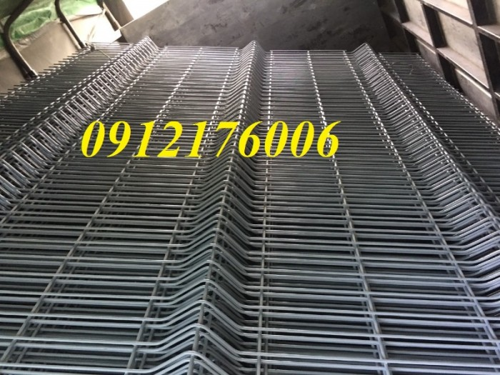 Hàng rào lưới thép hàn D5 a 50x150, 50x200 mạ kẽm sơn tĩnh điện.9