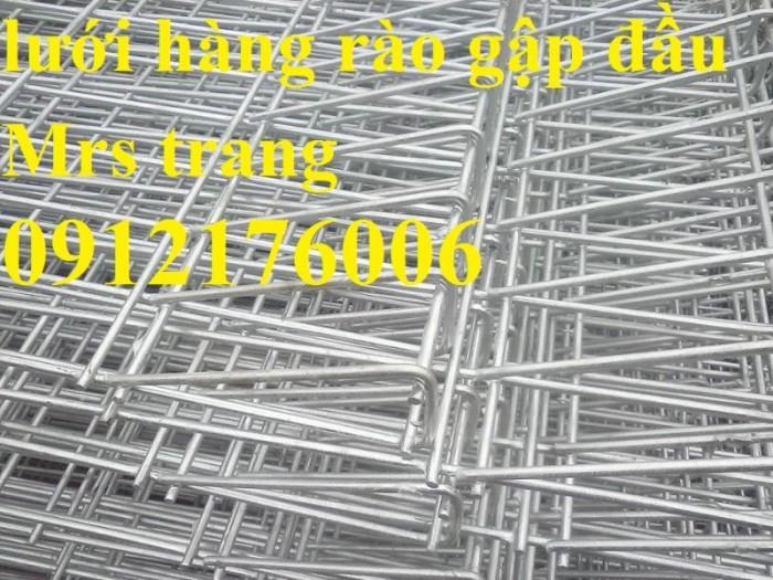 Hàng rào lưới thép hàn D5 a 50x150, 50x200 mạ kẽm sơn tĩnh điện.17