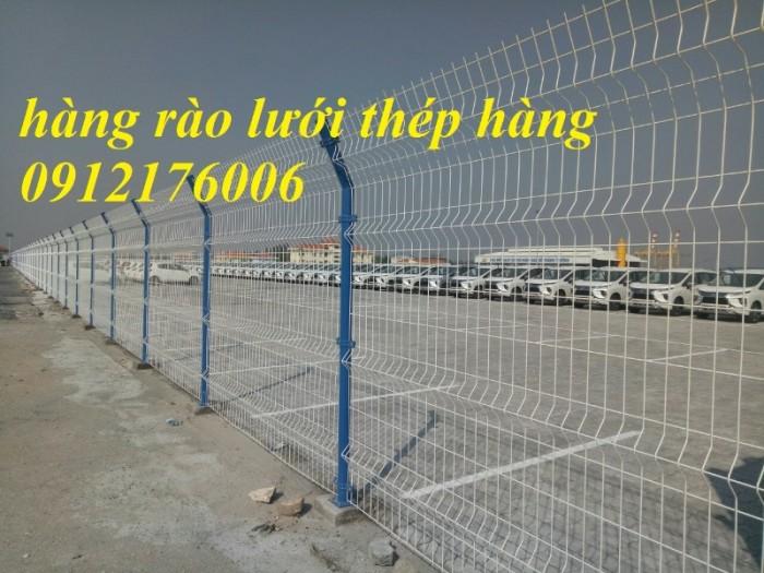 Hàng rào lưới thép hàn D5 a 50x150, 50x200 mạ kẽm sơn tĩnh điện.18