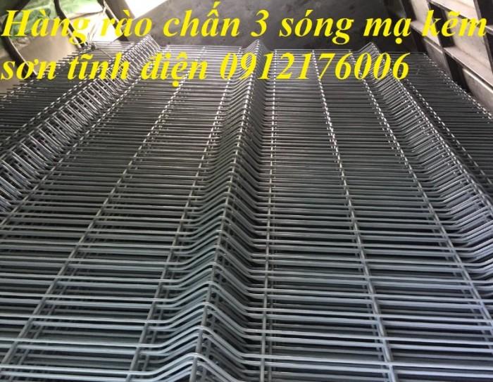 Hàng rào lưới thép hàn D5 a 50x150, 50x200 mạ kẽm sơn tĩnh điện.12