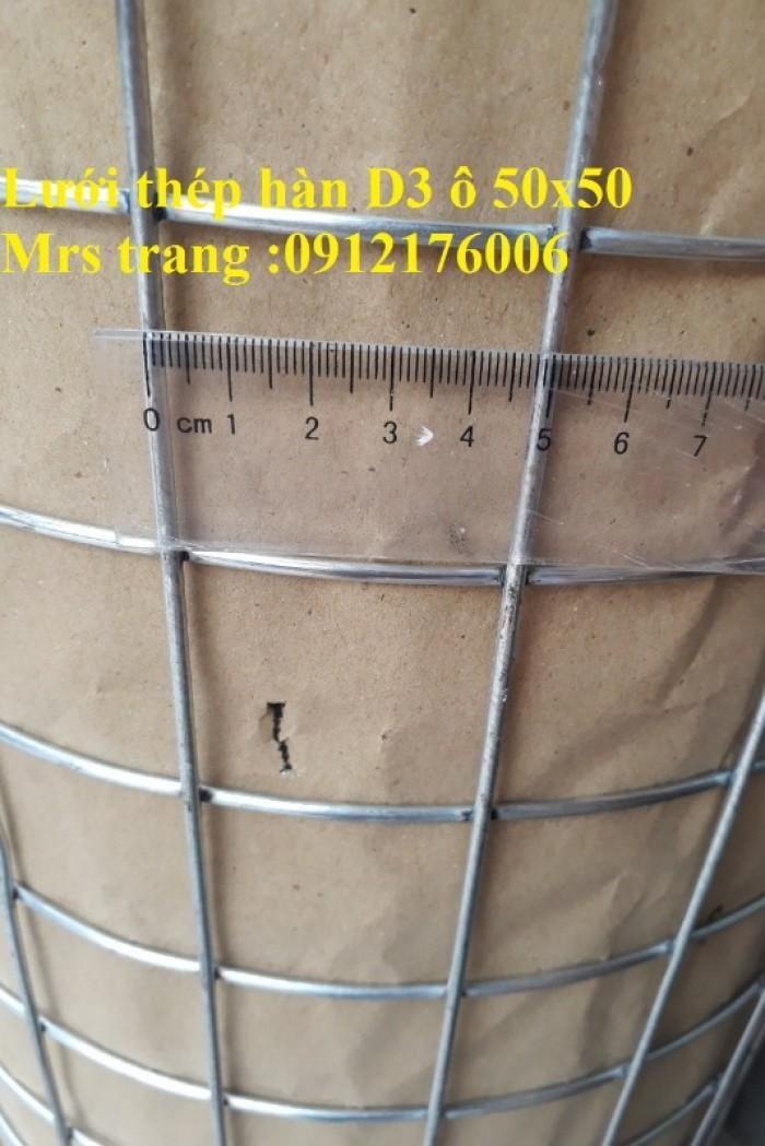 Lưới thép hàn mạ kẽm D2 a 25x258