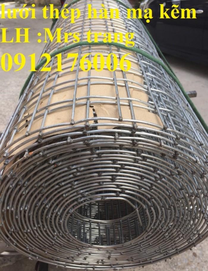 Lưới thép hàn mạ kẽm D2 a 25x2510