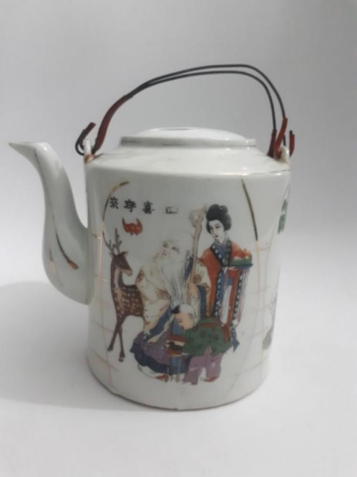 cặp bình trà Nhật xưa lành tích4