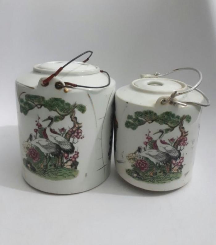 cặp bình trà Nhật xưa lành tích1