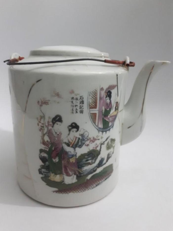 cặp bình trà Nhật xưa lành tích5
