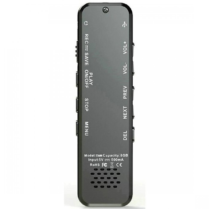 Máy ghi âm Suntech TS600-8G Chất lượng ghi âm Stereo với 2 micro đem lại bản ghi âm tuyệt vời dù với âm thanh rất nhỏ.1