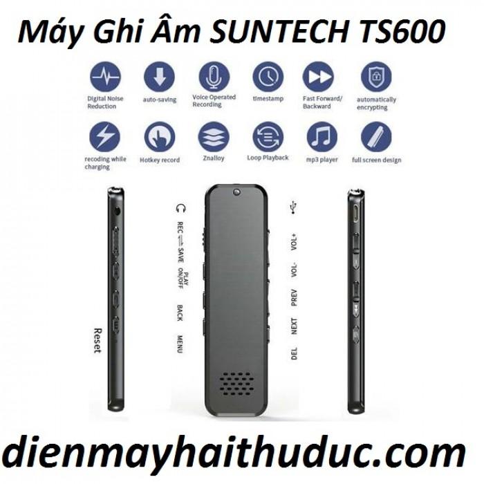 Máy ghi âm Suntech TS600-8G  Thời lượng pin của chiếc máy này có thể dùng được 20 giờ liên tục.3