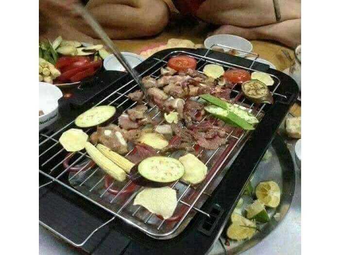 Bếp nướng k khói2