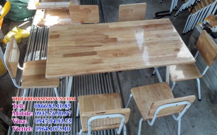 Bàn gỗ học sinh giá rẻ0