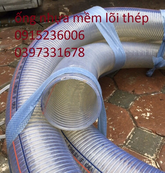 ống nhựa mềm lõi thép phi 25