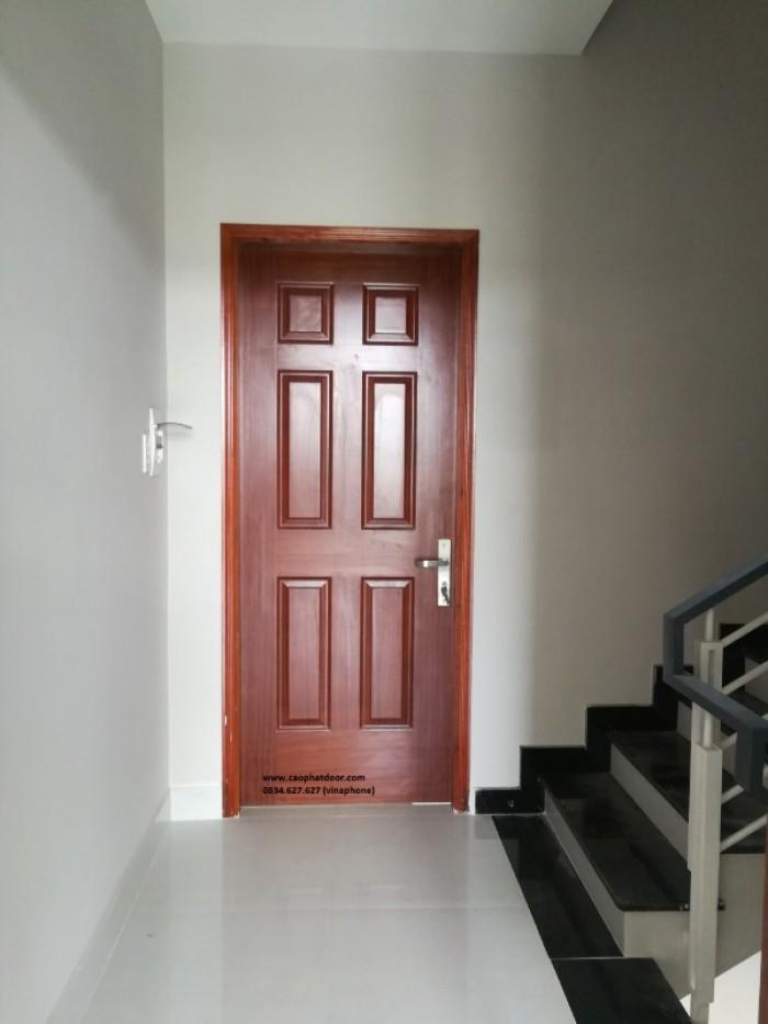 cửa gỗ hdf giá rẻ tại nha trang1