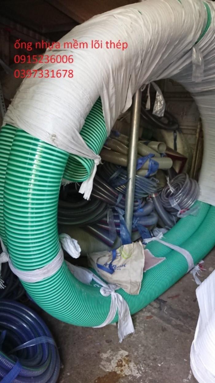 ống nhựa mềm lõi thép phi 60