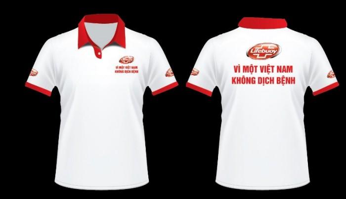 Xưởng may áo phông/ áo thun in/thêu logo quảng cáo làm quà tặng cho doanh nghiệp0