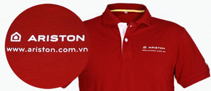 Xưởng may áo phông/ áo thun in/thêu logo quảng cáo làm quà tặng cho doanh nghiệp1
