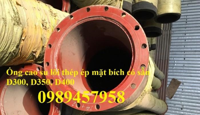 Ống rồng, ống cao su lõi thép hút cát, ống cao su chuyên dụng phi 120, phi 150,  phi 1701