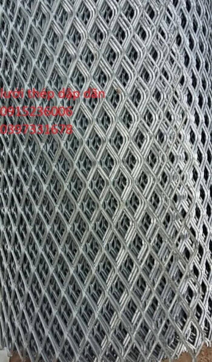 Lưới thép dập giãn, lưới thép hình thoi1