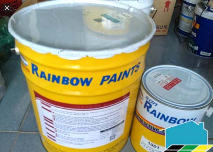 Đại lý cấp 1 cung cấp sơn Rainbow giá tốt cho công trình0