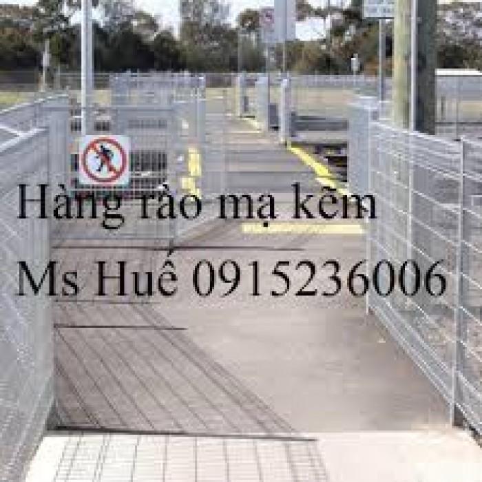 Hàng rào mạ kẽm bẽ tam giác hai đầu, lưới thép hàng rào mạ kẽm, lưới thép hàng rào sơn tỉnh điện3