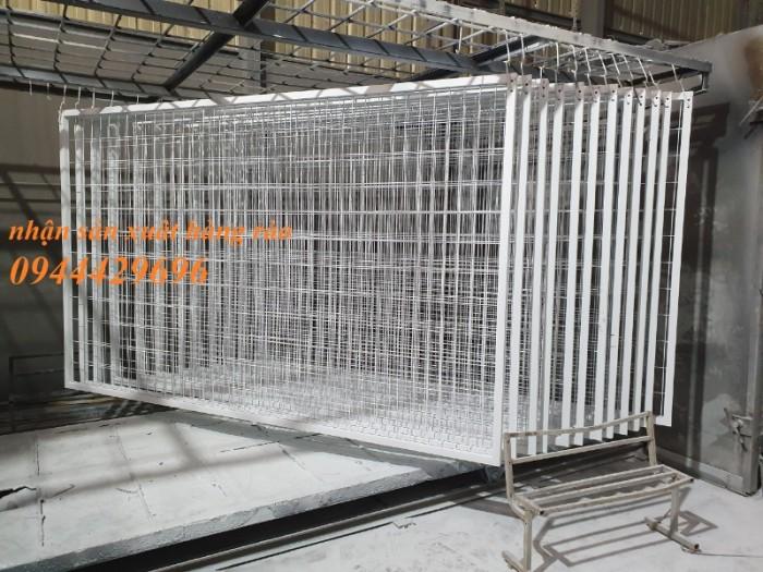 Hàng rào mạ kẽm sơn tĩnh điện 5 a 50 x 150 mạ kẽm sơn tĩnh điện10