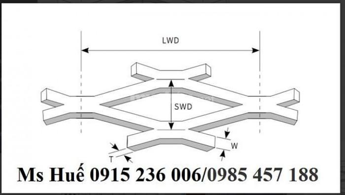 Lưới hình thoi inox 304, lưới mắt cáo không gỉ, lưới kéo giãn inox giá rẻ0