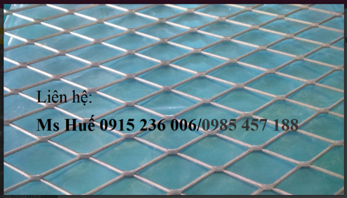 Lưới hình thoi inox 304, lưới mắt cáo không gỉ, lưới kéo giãn inox giá rẻ1
