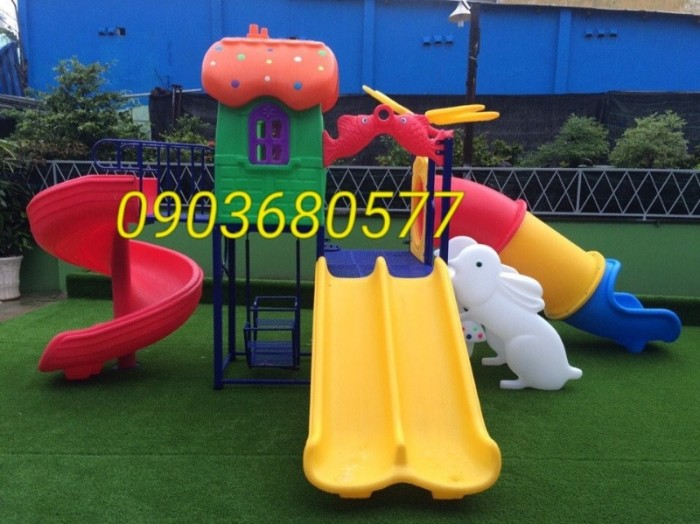 Cung cấp cầu trượt vận động dành cho trẻ em vui chơi13