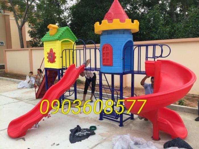 Cung cấp cầu trượt vận động dành cho trẻ em vui chơi9