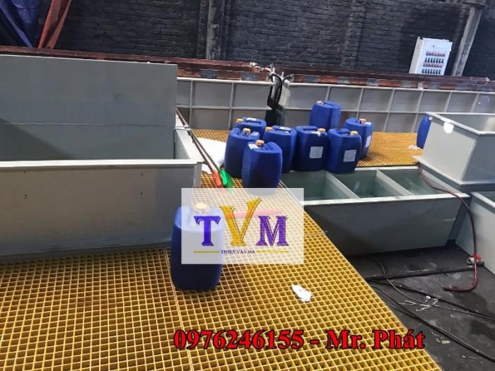 Tấm sàn lót FRP Grating Sợi thủy tinh nhà máy, công ty, sân vườn ....9