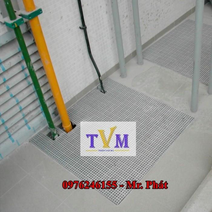Tấm sàn lót FRP Grating Sợi thủy tinh nhà máy, công ty, sân vườn ....12