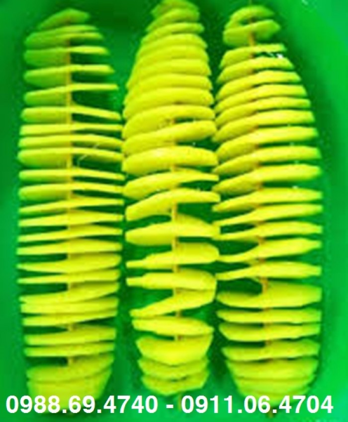 Máy cắt khoai tây lốc xoáy inox h0015