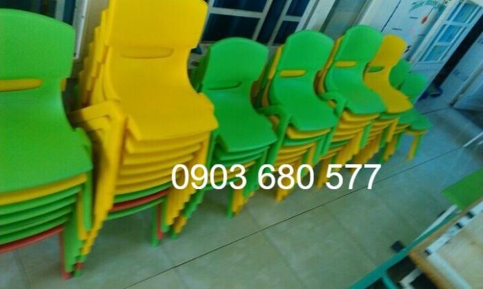 Cung cấp sỉ và lẻ ghế nhựa đúc dành cho trẻ em mầm non2