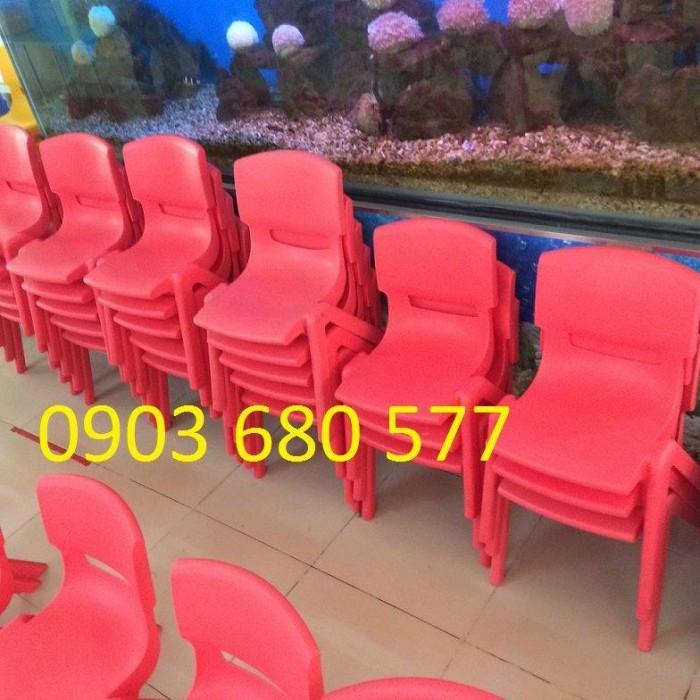Cung cấp sỉ và lẻ ghế nhựa đúc dành cho trẻ em mầm non6