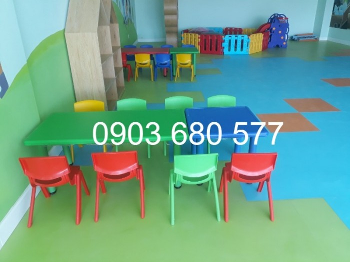 Cung cấp sỉ và lẻ ghế nhựa đúc dành cho trẻ em mầm non4