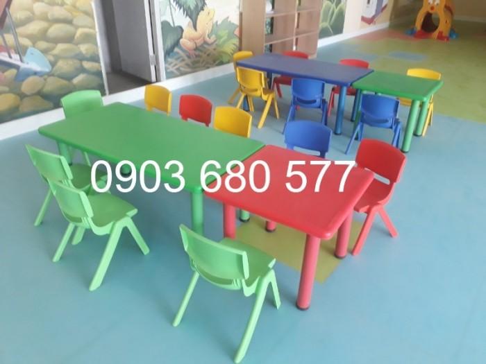 Cung cấp sỉ và lẻ ghế nhựa đúc dành cho trẻ em mầm non7