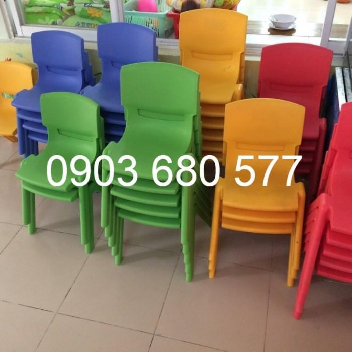 Cung cấp sỉ và lẻ ghế nhựa đúc dành cho trẻ em mầm non12