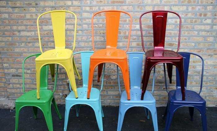 Ghế cafe sắt sơn tĩnh điện3