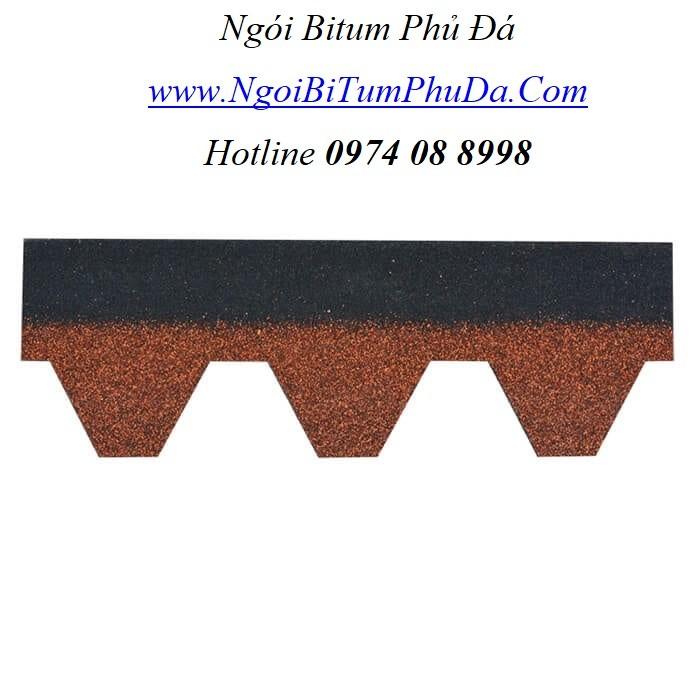 Ngói nhựa đường phủ đá chất lượng giá tốt3