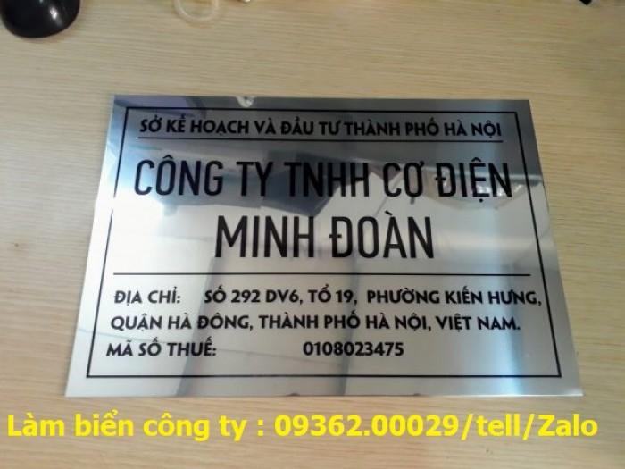 Biển Công ty làm theo yêu cầu tại Hà Nội1