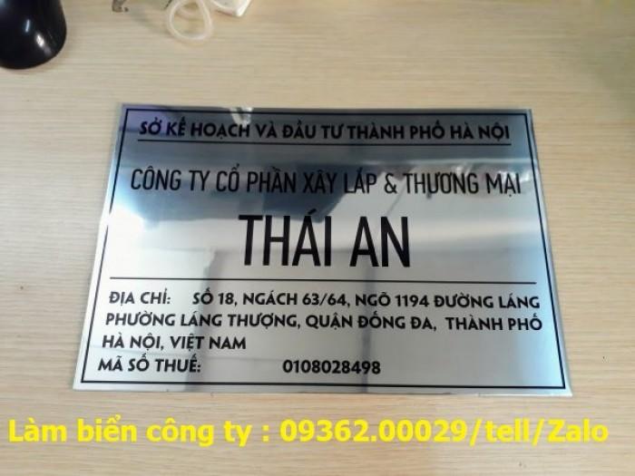 Biển Công ty làm theo yêu cầu tại Hà Nội2