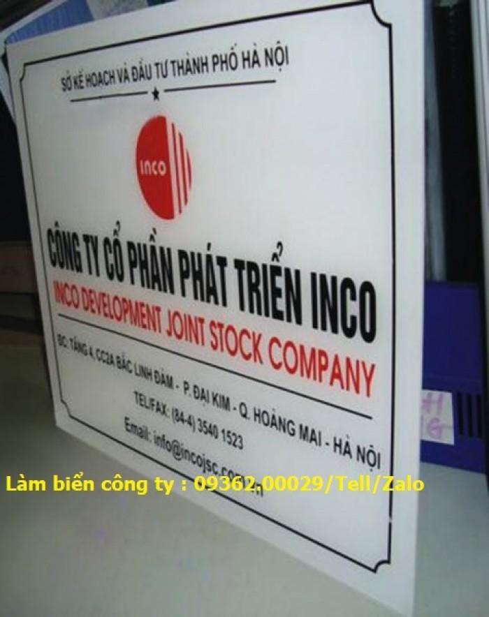 Biển Công ty làm theo yêu cầu tại Hà Nội18