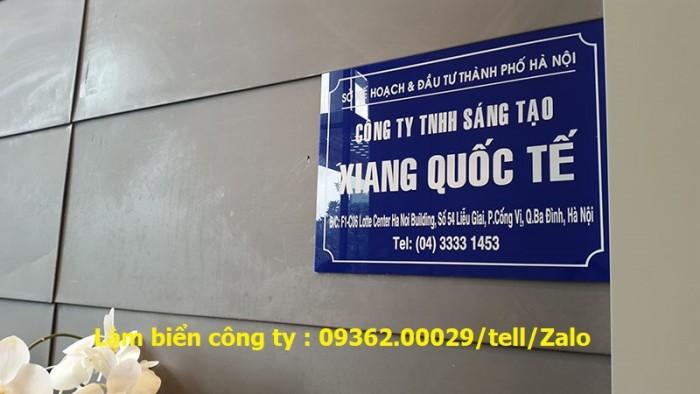 Biển Công ty làm theo yêu cầu tại Hà Nội7