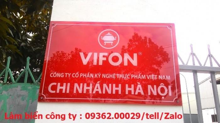 Biển Công ty làm theo yêu cầu tại Hà Nội10