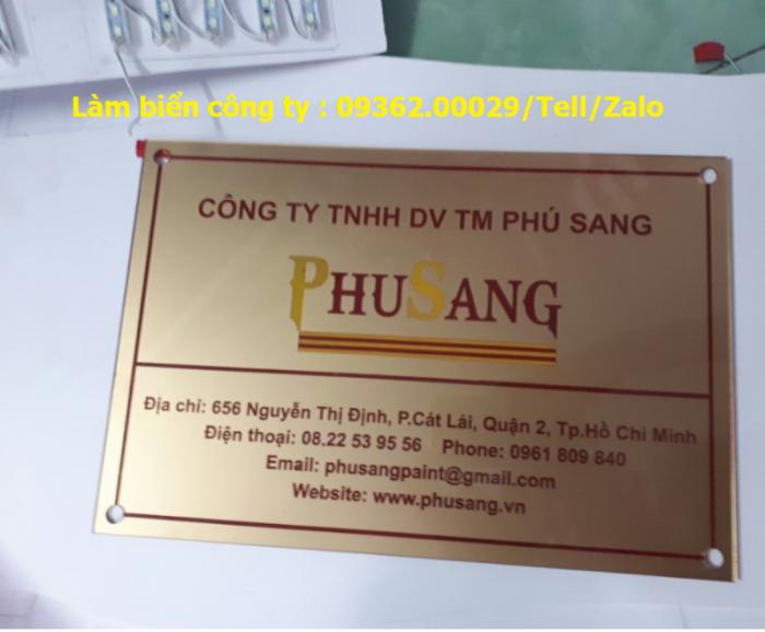 Biển Công ty làm theo yêu cầu tại Hà Nội11